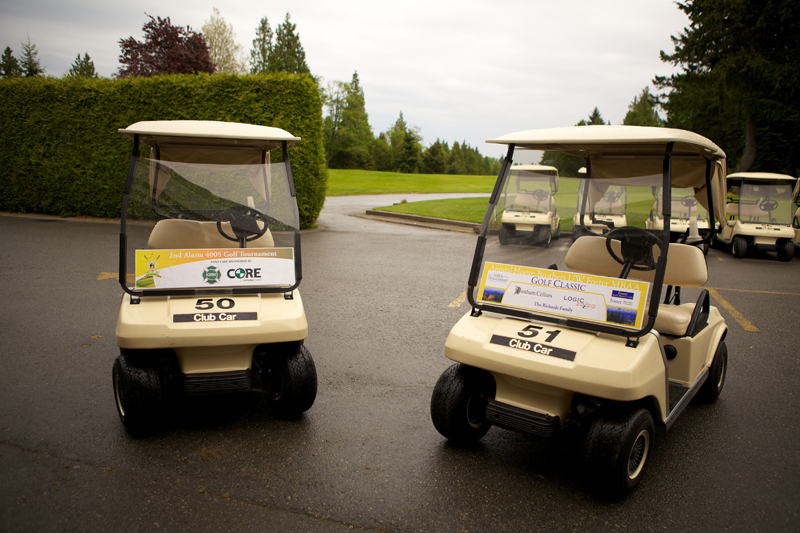 Golf Cart Stickers | Fairway Sponsors Sponsors Electronic Golf Carts on golf hole 8, golf lunch sponsor, beverage cart sponsor, golf hole sponsor,